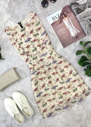 Платье с молодежным принтом   dr1825075  glamorous