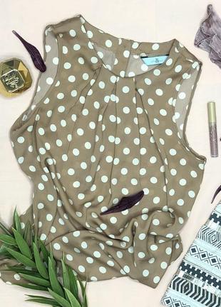 Футболка / майка / рубашка / блуза в горошек