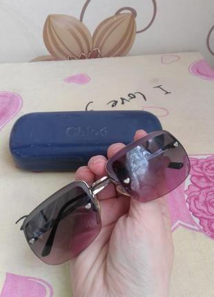 Очки chloe оригинал солнцезащитные очки оправа