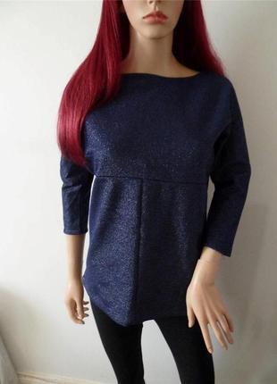Шикарный свитер/джемпер с металлическим эффектом от zara