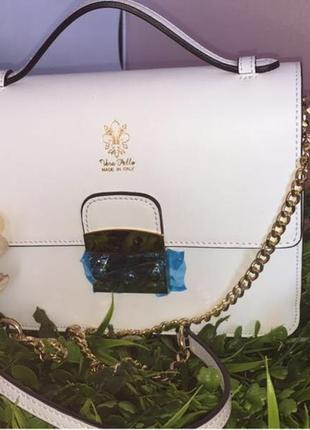 Кожаная сумка vera pelle (италия)