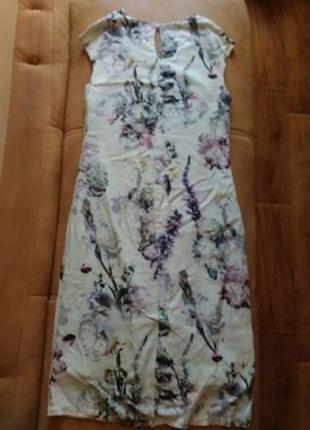 Платье очень красивое с цветочным принтом