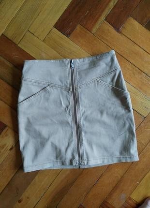 Крутая мини юбка от h&m