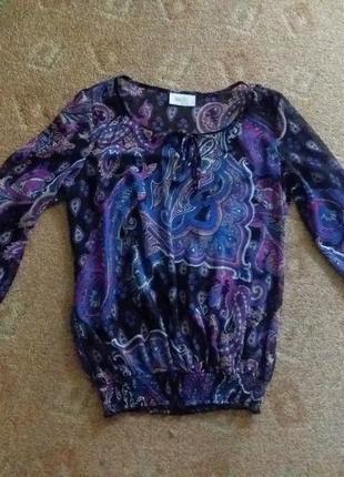 Красивая полупрозрачная блуза wallis