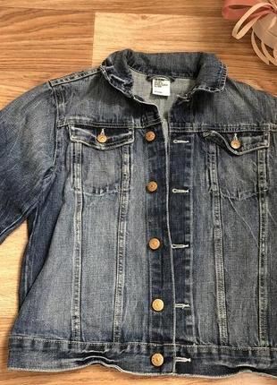 Новая джинсовая куртка h&m