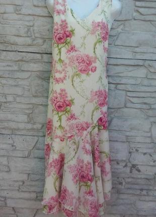 Распродажа!!! нарядное длинное платье в принт kaleidoscope