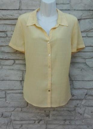 Распродажа!!! красивая блуза желтого цвета bm