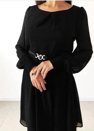 Шифоновое платье от f&f