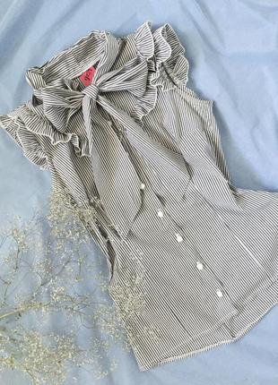 Рубашка,блуза безрукавка в полоску от george