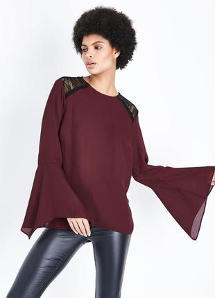 Новая блузка с красивыми рукавами new look