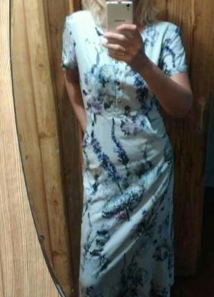 Платье длинное новое indiano natural