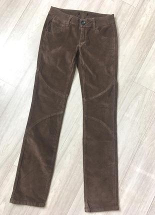Женские велюровые брюки takko fashion размер 42