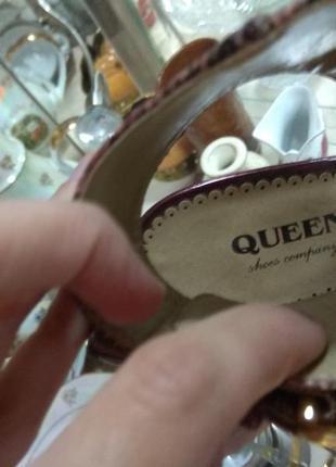 Суперские босоножки туфли queen3 фото