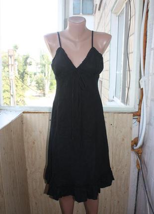 Платье сарафан льняной 100% лён
