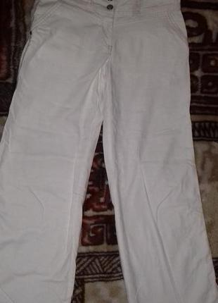 Летние штаники (55% лен)