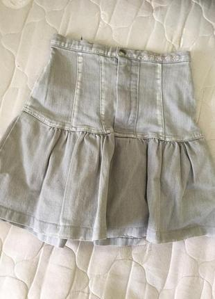 Джинсовая юбка от bershka
