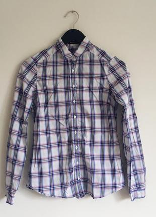 🌸очень стильная рубашка от massimo dutti (s)