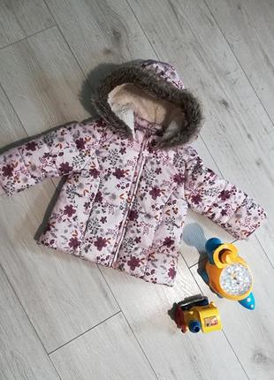 Куртка для дівчинки від 9 місяців