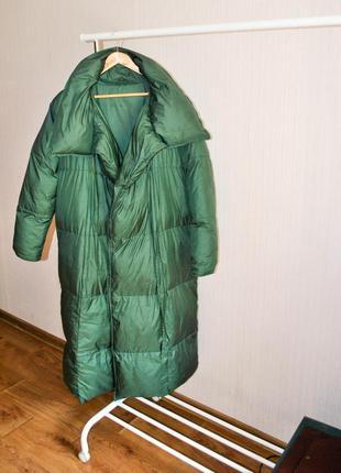 Пуховик зима,зефирка, одеяло, бойфренд,оверсайз,до -30 размер м,л   торг