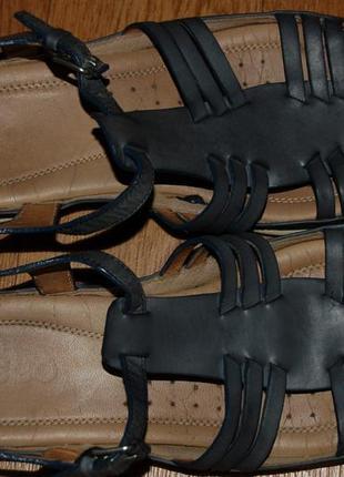 Босоножки сандалии 40 р ecco хорошее состояние