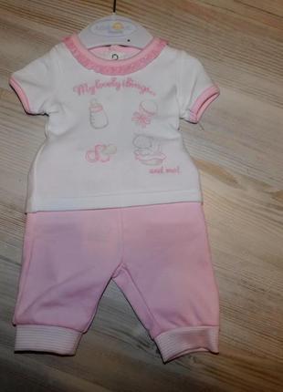 Комплект mayoral для новорожденной девочки