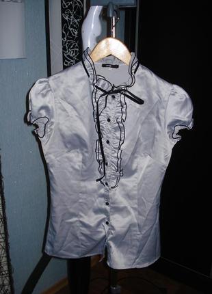 Блузка с коротким рукавом oodji