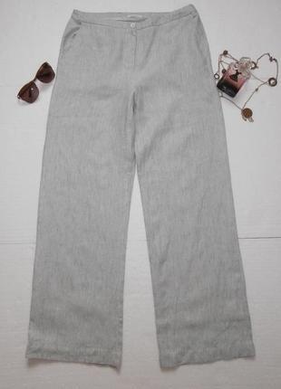 Стильные льняные брюки, лен