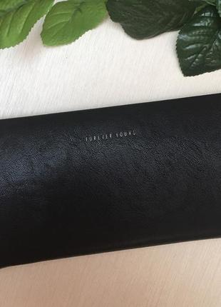 Новый черный кошелек