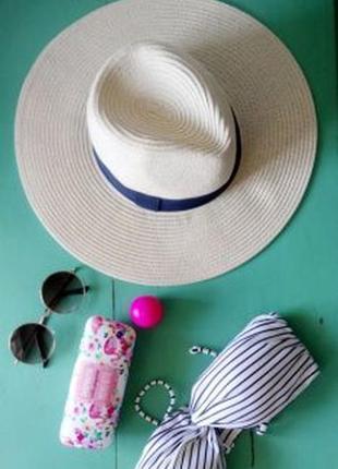 Тренд этого лета соломенная шляпа с широкими полями