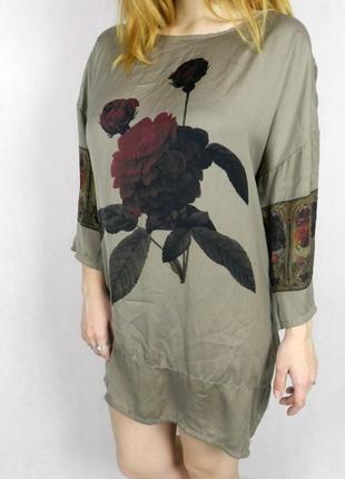 Платье-туника из искусственного шелка vicolo (с биркой и ценником) новое
