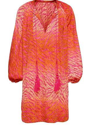 Шикарное платье-туника от h&m conscious collection