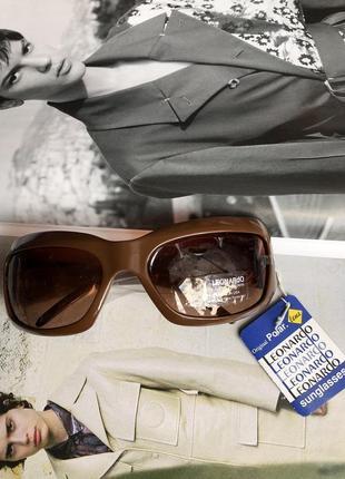Брендовые солнцезащитные очки от дизайнеров высокой моды leonardo (италия)