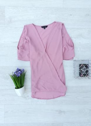Нежная блуза с открытыми плечами new look