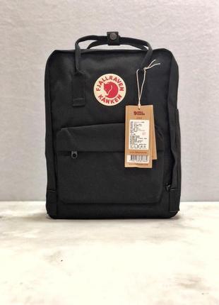 Рюкзак канкен fjallraven kanken сумка портфель черный