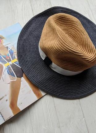 Шляпа шляпка соломенная капелюх