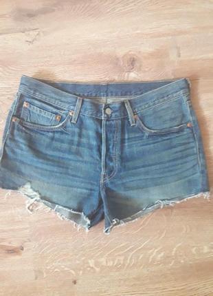 Новые джинсовые шорты levis