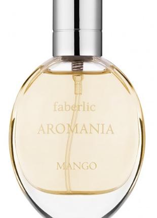 Новинка! туалетная вода для женщин aromania mango