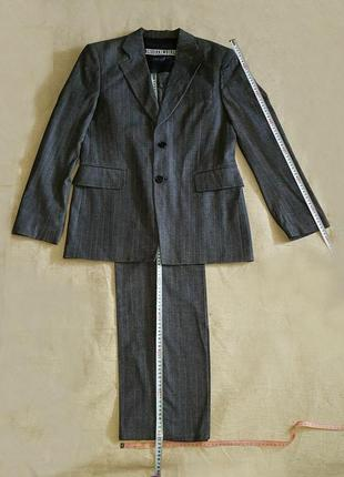 Классический костюм - двойка (пиджак, брюки) dirk bikkembergs, италия, оригинал