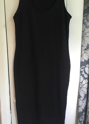 Трикотажное платье миди по фигуре asos