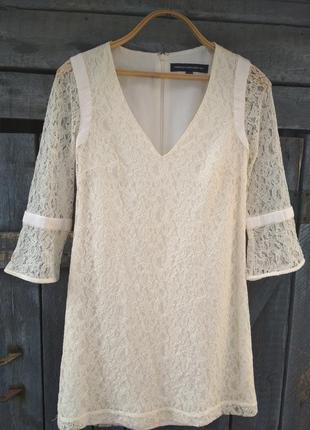 Кружевное платье от french connection