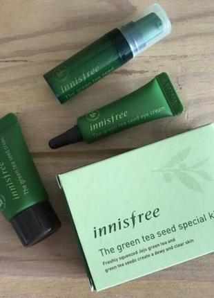Набор миниатюр innisfree the green tea seed special kit