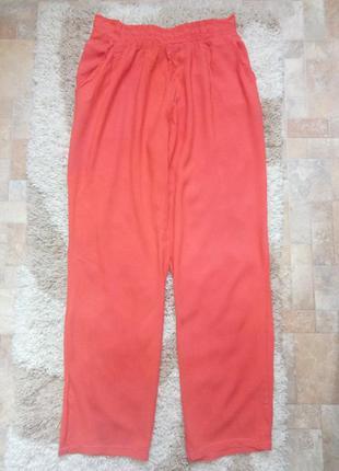 Легкие персиково - терракотовые штанишки