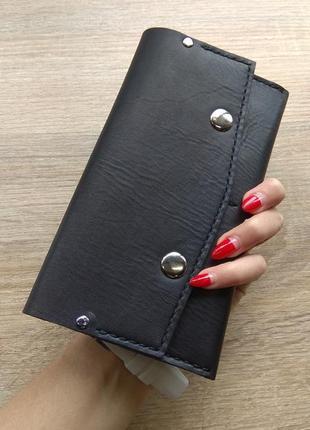 Minimal wallet - натуральная кожа - ручная работа