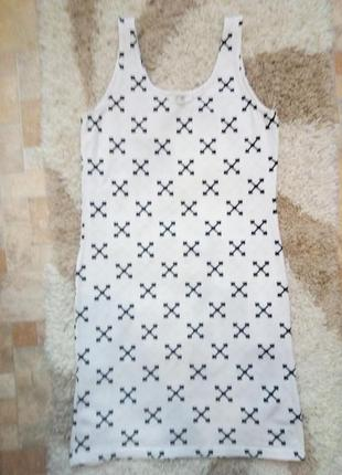 Супер платье в крестах divided2