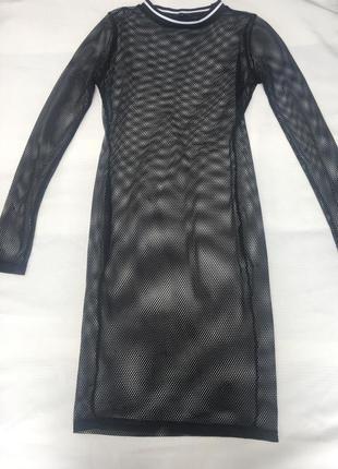 Платье сетка topshop