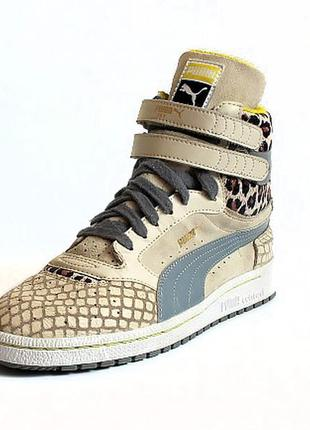 Хайтопы puma sky ii hi animal . стелька 25 см