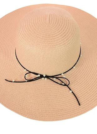 Широкополая женская шляпа 56-58, разные цвета