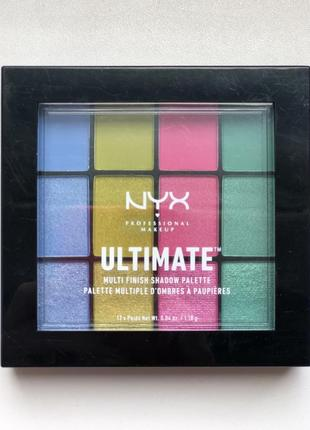 Палетка nyx ultimate multi-finish shadow palettes