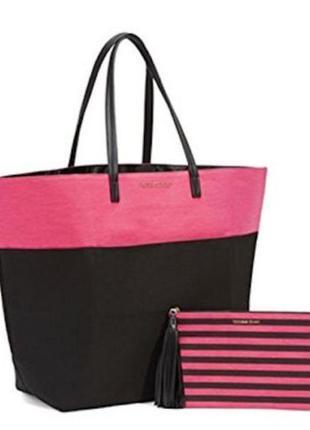 Красивая сумка victoria's secret, косметичка