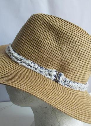 Шляпа шляпка  люрекс  accessoires c&a германия оригинал европа